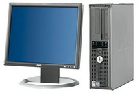 Dell Optiplex GX620 s monitorem