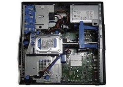 Dell Precision T3500 otevřený