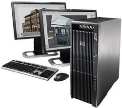 HP Workstation Z600 sestava
