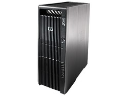 HP Workstation Z600 z boku