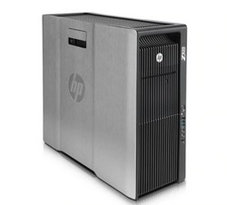 HP Workstation Z820 z boku