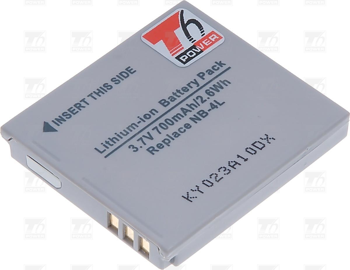 T6 power Baterie T6 power NB-4L DCCA0004