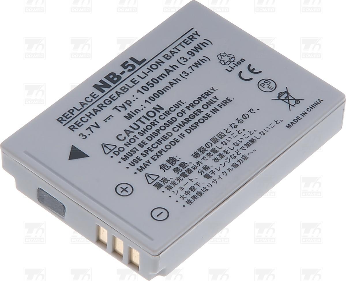T6 power Baterie T6 power NB-5L DCCA0010
