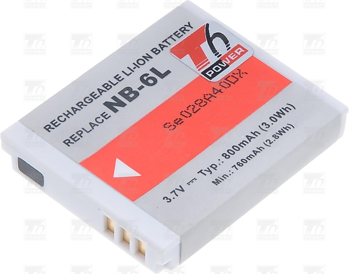 T6 power Baterie T6 power NB-6L, NB-6LH DCCA0013