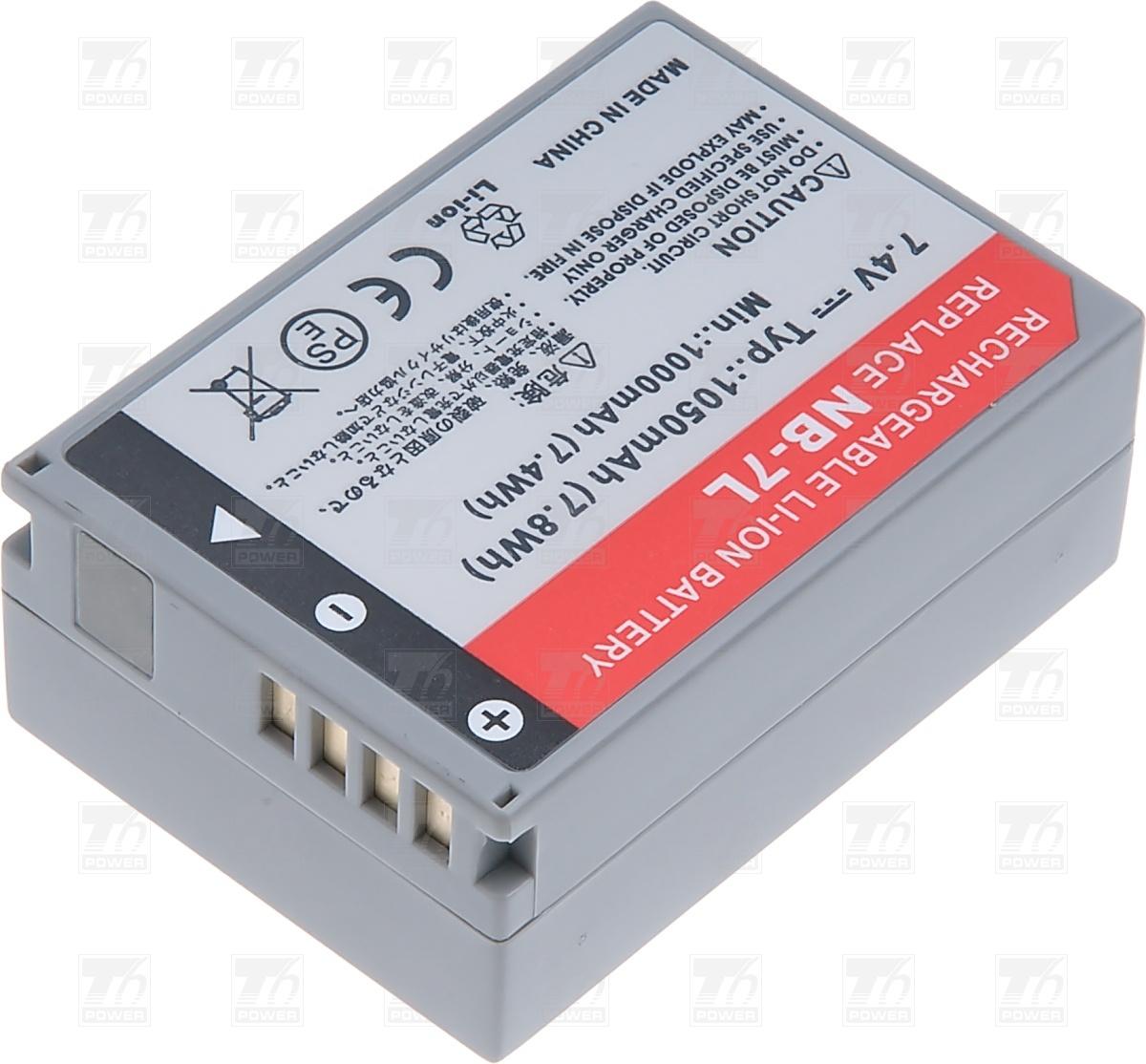 T6 power Baterie T6 power NB-7L DCCA0014