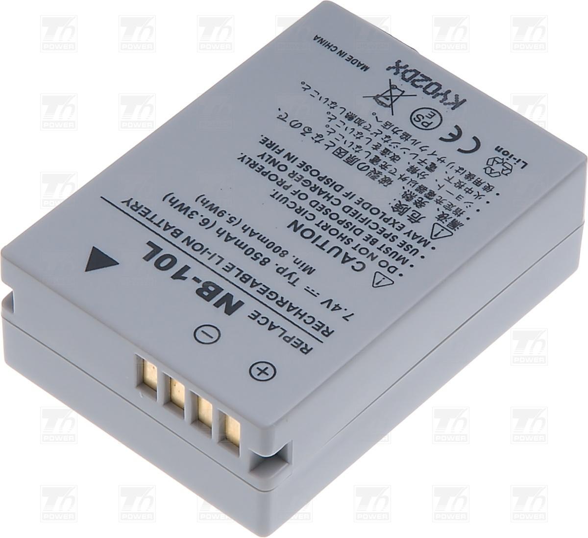 T6 power Baterie T6 power NB-10L DCCA0020