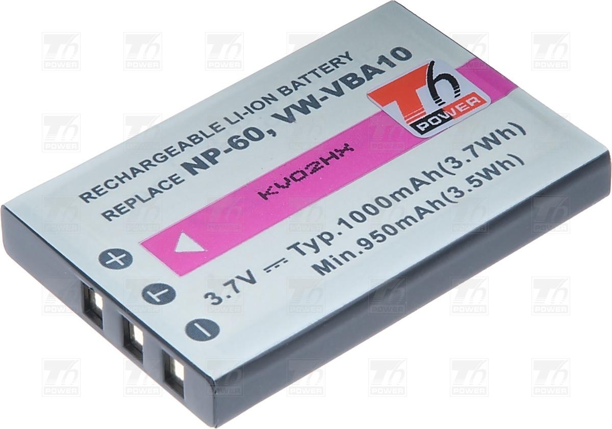 T6 power Baterie T6 power Fuji NP-60, KLIC-5000, NP-30, LI-20B,