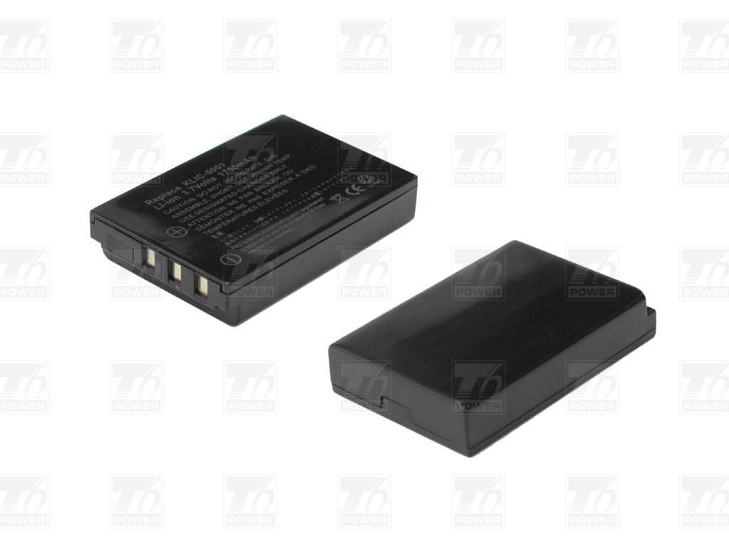 T6 power Baterie T6 power KLIC-5001, DB-L50, DB-L50AU DCKD0001