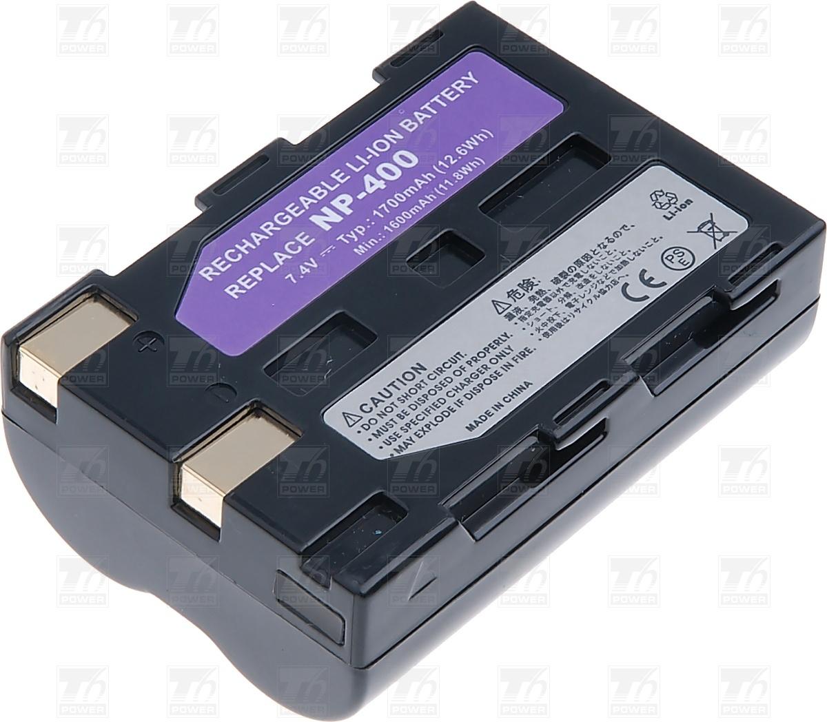 T6 power Baterie T6 power NP-400, D-Li50, SLB-1674 DCMI0002