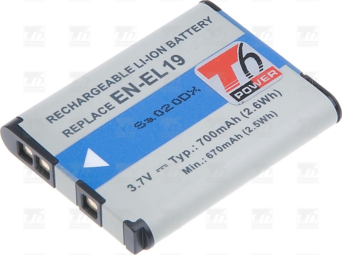 T6 power Baterie T6 power EN-EL19 DCNI0014