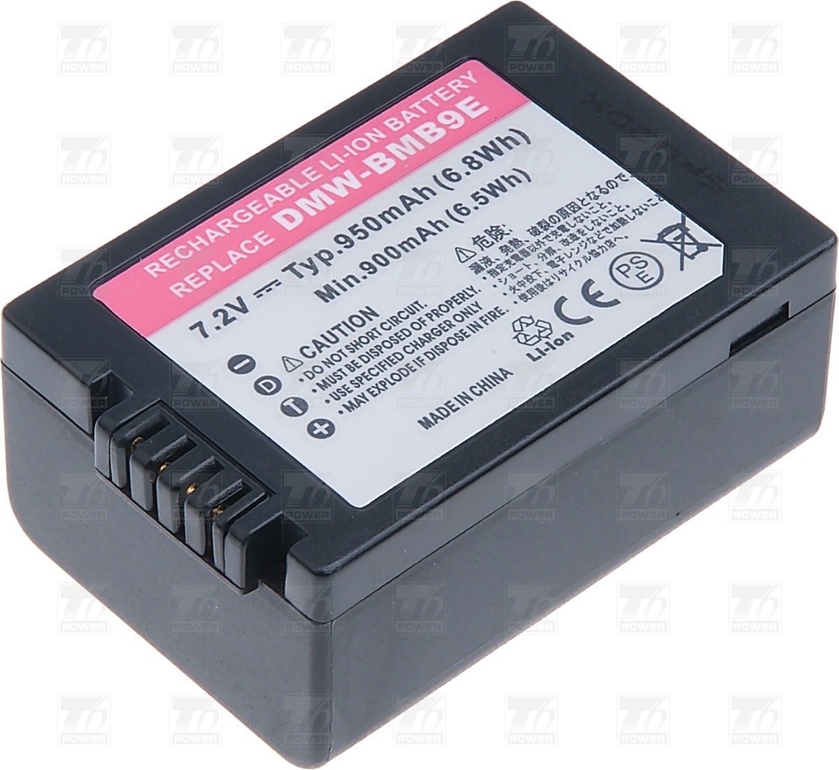 T6 power Baterie T6 power DMW-BMB9E, DMW-BMB9GK, DMW-BMB9 DCPA00