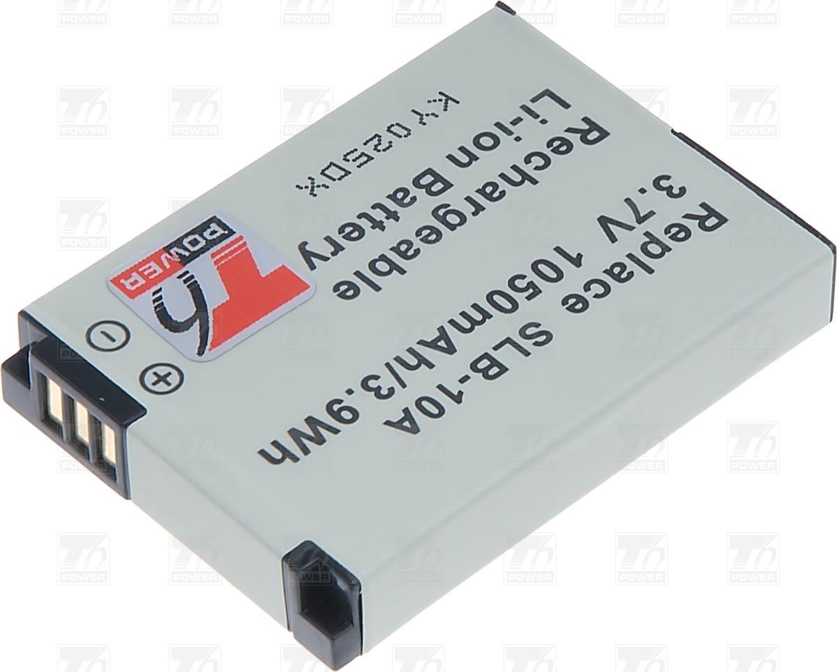 T6 power Baterie T6 power SLB-10A, BN-VH105, DLI-301 DCSA0011
