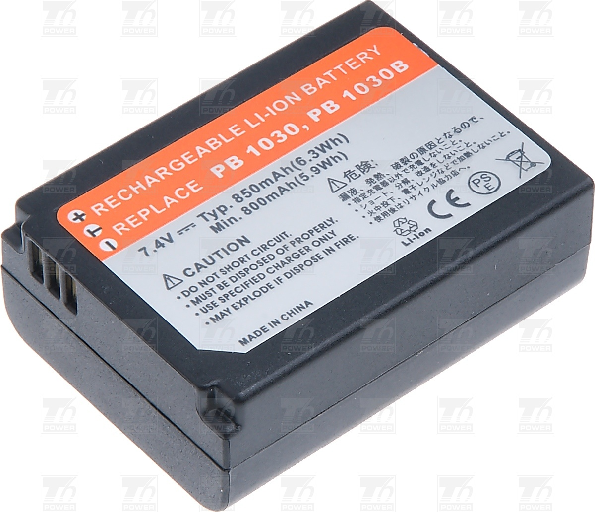 T6 power Baterie T6 power BP1030, BP1030B, BP1130 DCSA0017
