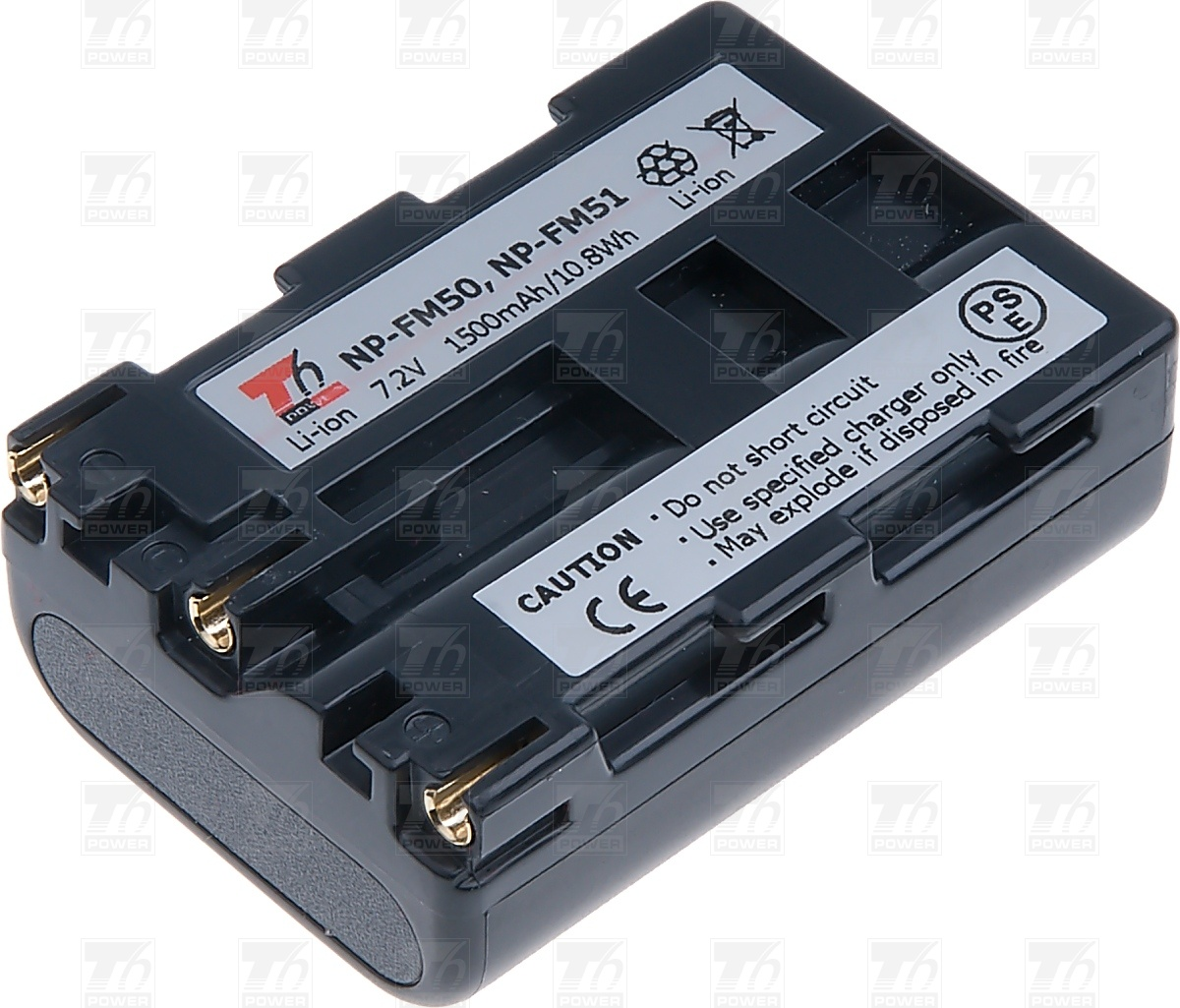 T6 power Baterie T6 power NP-FM50, NP-FM51, NP-FM30 DCSO0002