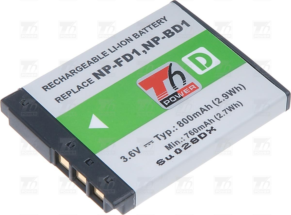 T6 power Baterie T6 powe NP-BD1, NP-FD1 DCSO0023