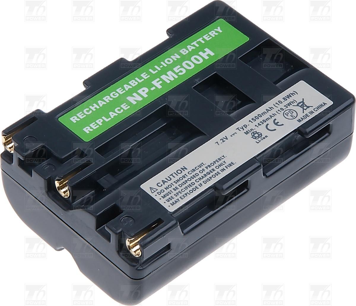 T6 power Baterie T6 power NP-FM500H, NP-FM55H DCSO0024