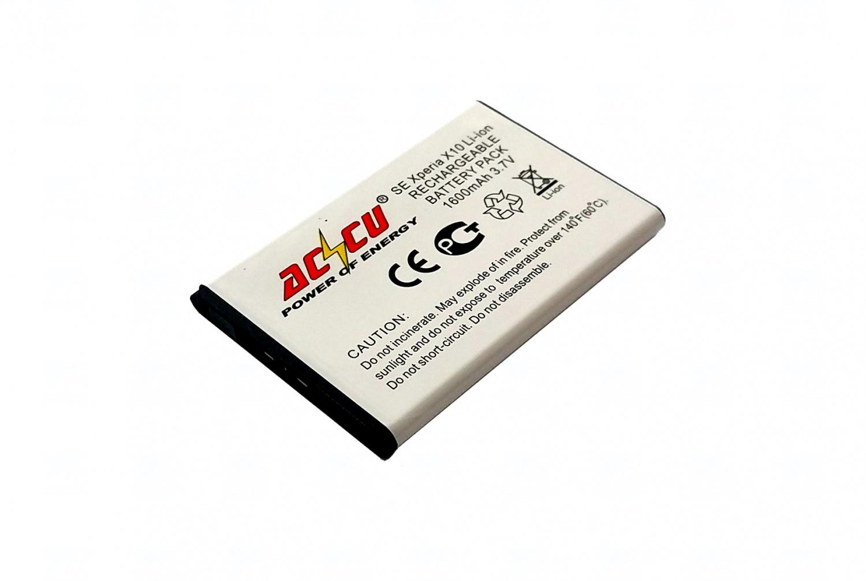T6 power Baterie Accu pro Sony Ericsson Xperia X1, X10, Li-ion,