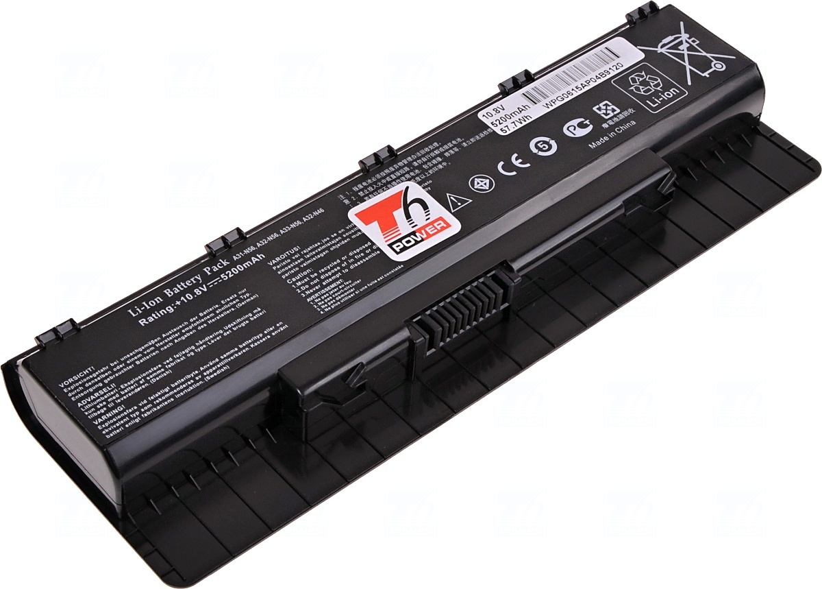 T6 power Baterie T6 power A31-N56, A32-N56, 0B110-00060000, 0B11