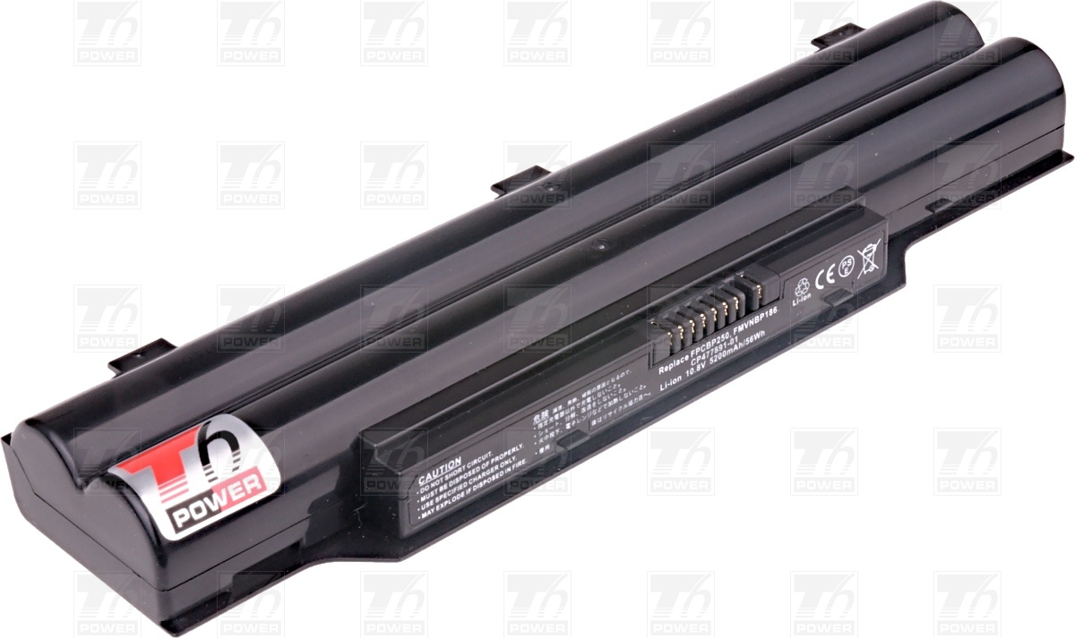 T6 power Baterie T6 power FPCBP250, CP477891-01, FMVNBP186, FPCB