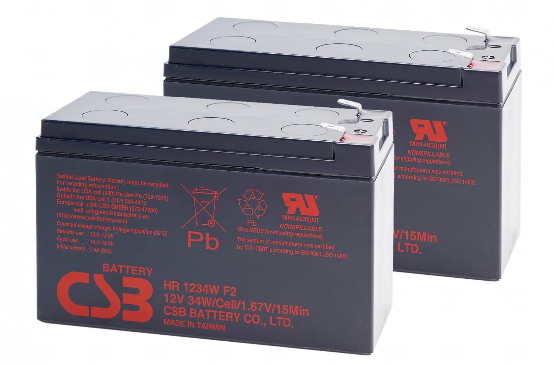 T6 power APC KIT RBC124 - baterie CSB UPSAPC007