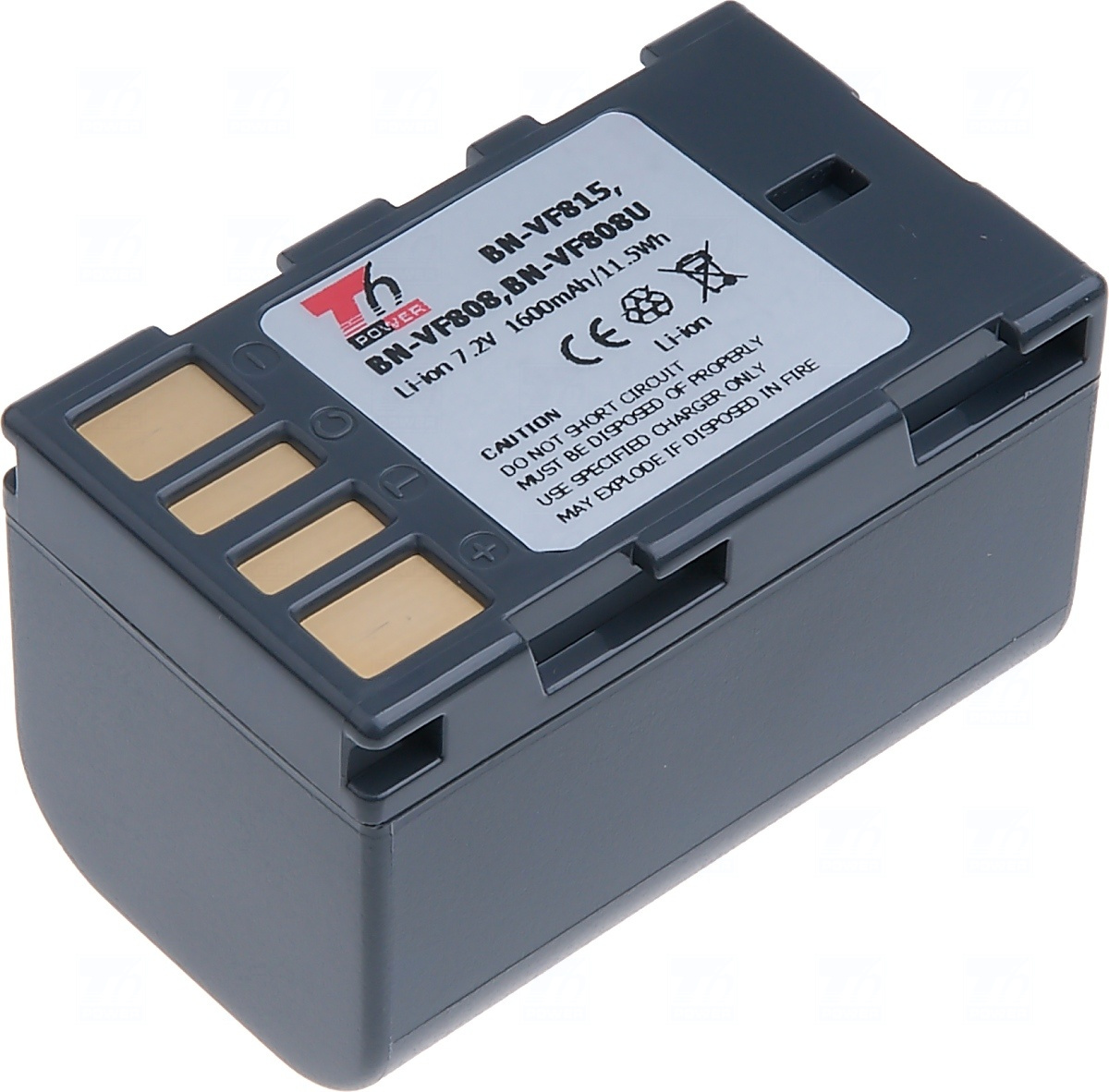 T6 power Baterie T6 power JVC BN-VF808, BN-VF808U, BN-VF815, BN-