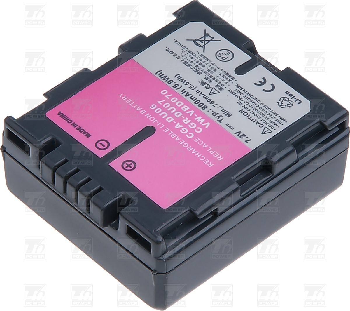 T6 power Baterie T6 power CGR-DU07, VW-VBD070, CGA-DU07, CGA-DU0