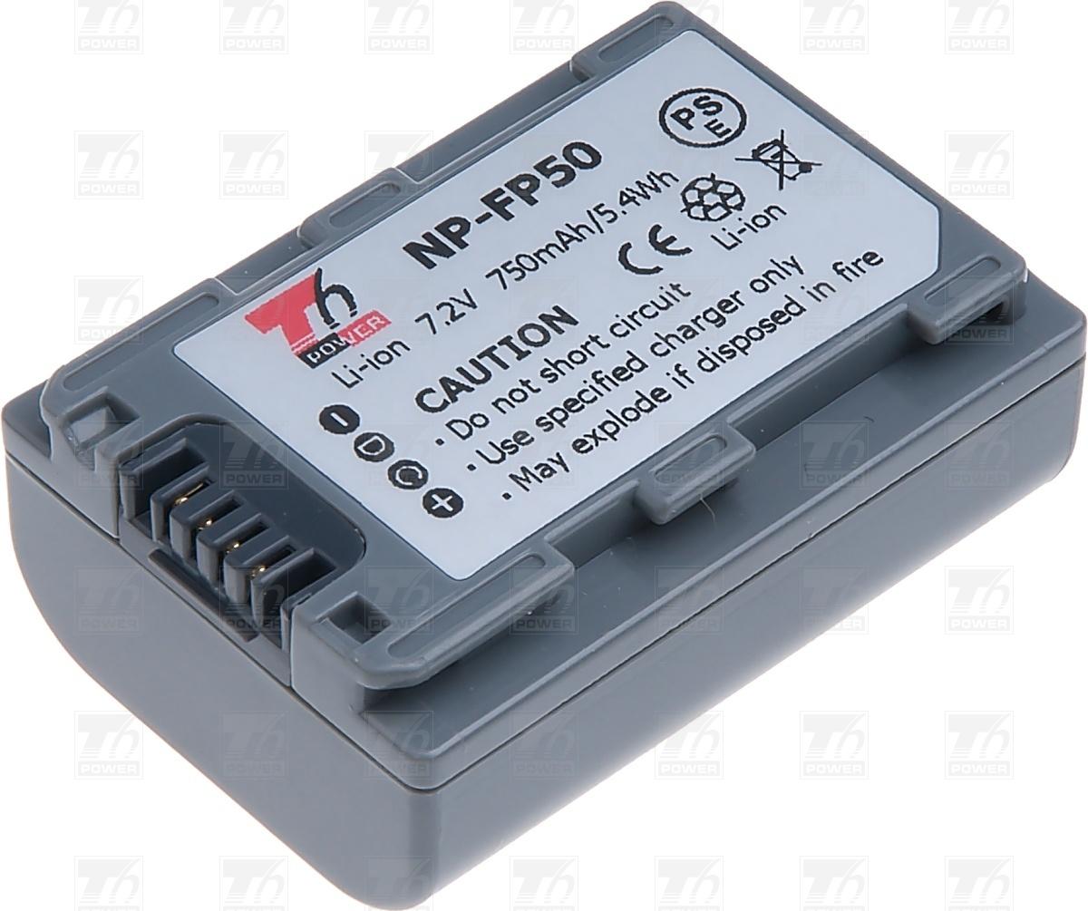 T6 power Baterie T6 power NP-FP50, NP-FP30, šedá VCSO0036