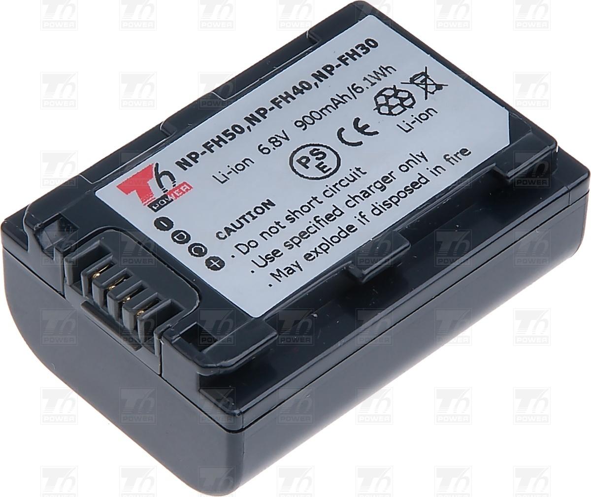 T6 power Baterie T6 power NP-FH30, NP-FH40, NP-FH50 VCSO0050