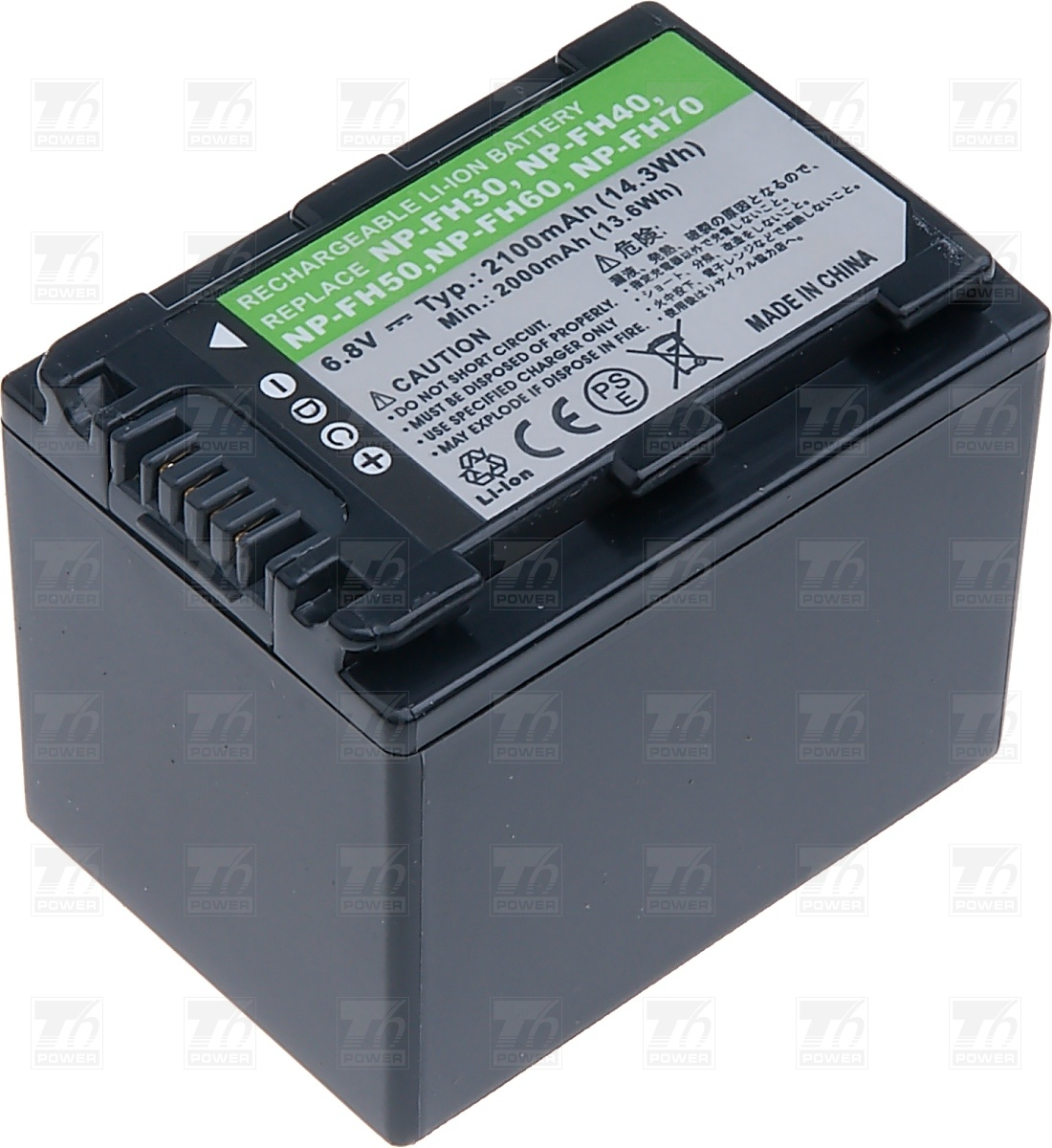 T6 power Baterie T6 power NP-FH30, NP-FH40, NP-FH50, NP-FH60, NP