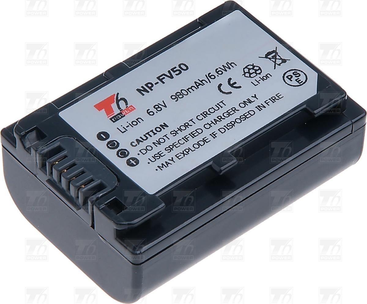 T6 power Baterie T6 power NP-FV50, NP-FV30 VCSO0053