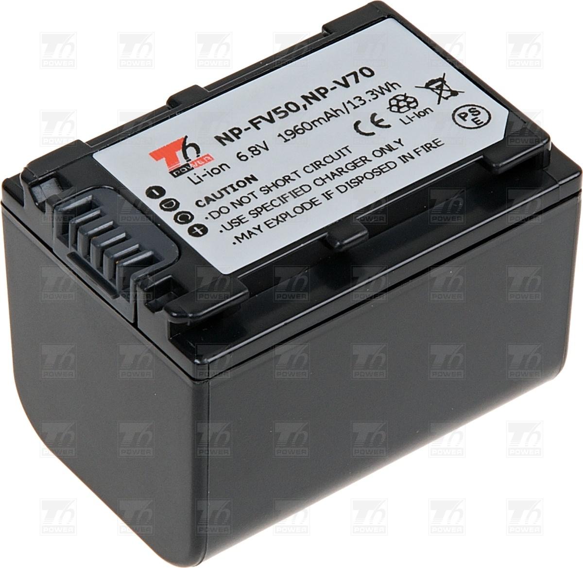 T6 power Baterie T6 power NP-FV70, NP-FV50, NP-FV30 VCSO0054