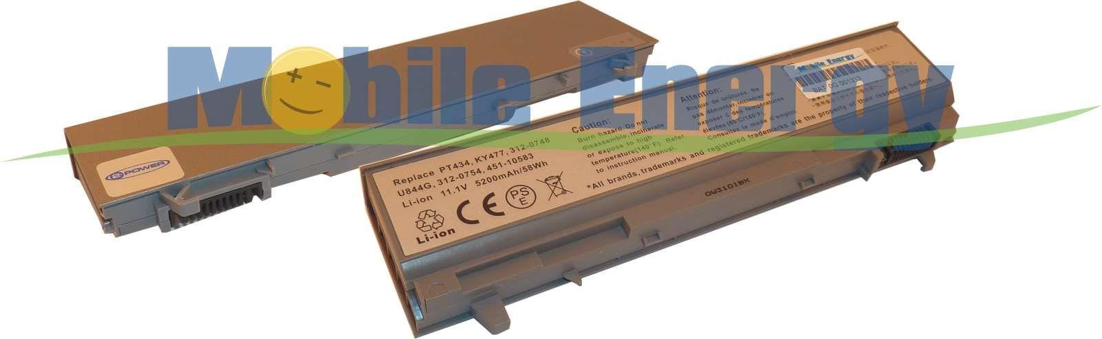 Mobile-Energy Baterie DELL Latitude E6400 / E6500 / E6510 / Prec