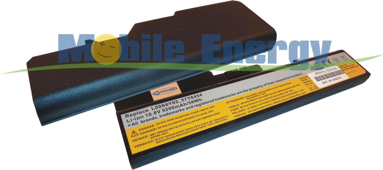 Mobile-Energy Baterie Lenovo 3000 G460 / G560 / Z460 / Z465 / Z5