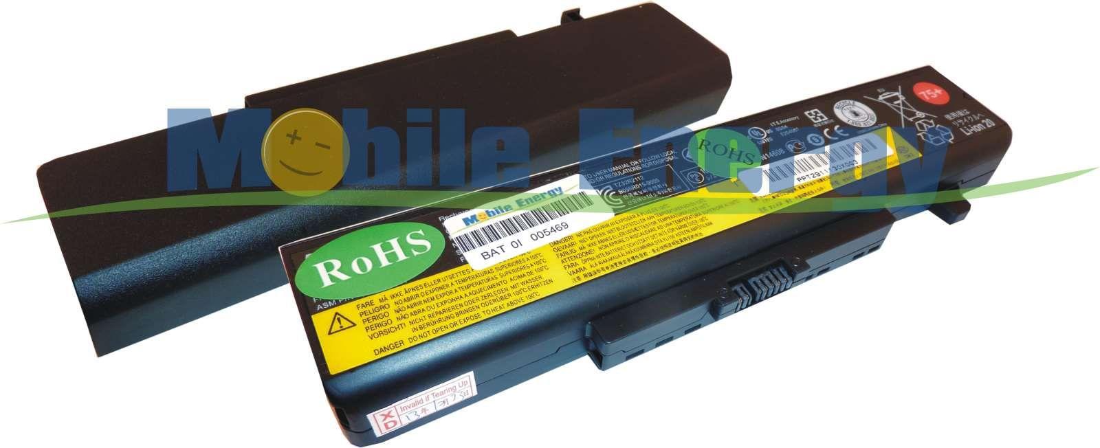 Mobile-Energy Baterie Lenovo IdeaPad Z480AX / Z380 / Z480 / Z580