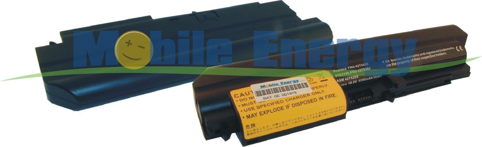 Mobile-Energy Baterie LENOVO ThinkPad R400 / R61 14 / R61i 14 /