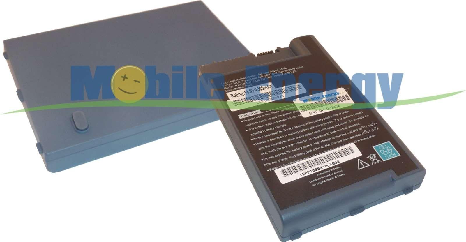 Mobile-Energy Baterie ACER Ferrari 3000 / 3200 / 3400 - 14.8v 44