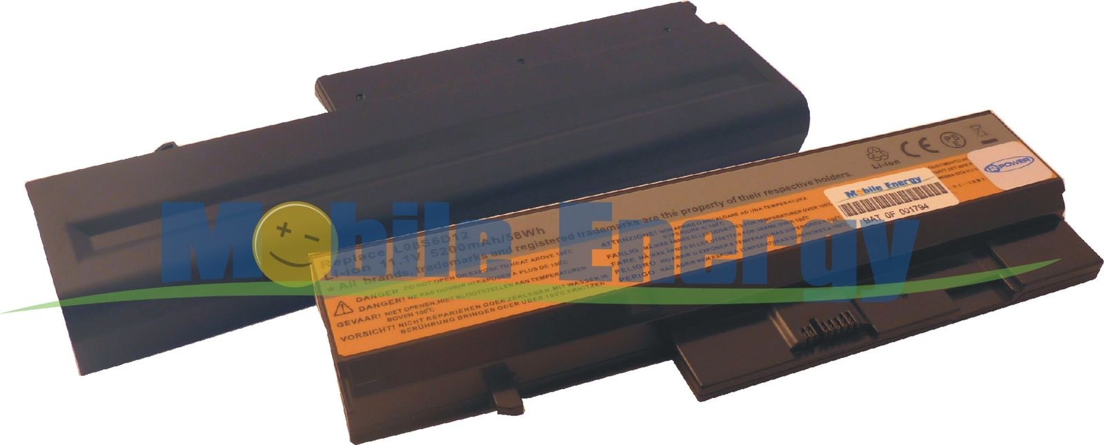 Mobile-Energy Baterie Lenovo IdeaPad U330 / V350 / Y330 - 11.1v