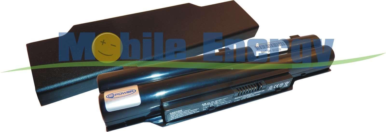Mobile-Energy Baterie Fujitsu Siemens LifeBook LH520 / LH530 - 1