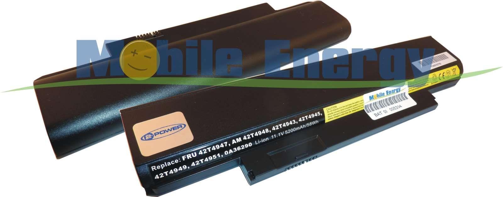 Mobile-Energy Baterie Lenovo ThinkPad E120 / X121e / X130 / Edge