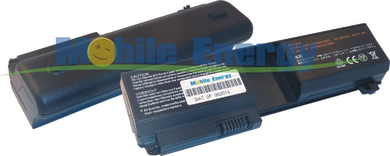 Mobile-Energy Baterie HP Pavilion TX1000 / TX1100 / TX1200 / TX1