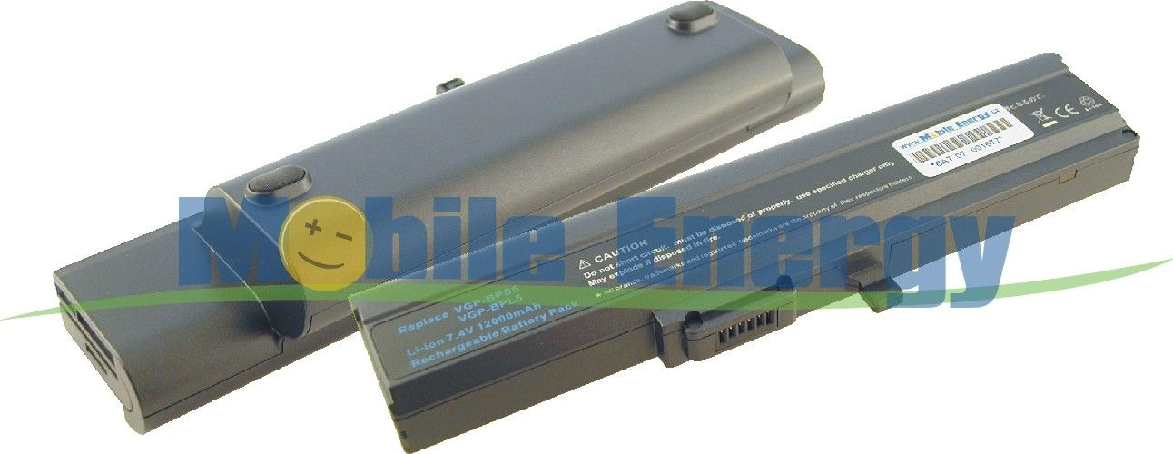 Mobile-Energy Baterie SONY VAIO VGN-TX Series - 7.4v 13.000mAh -