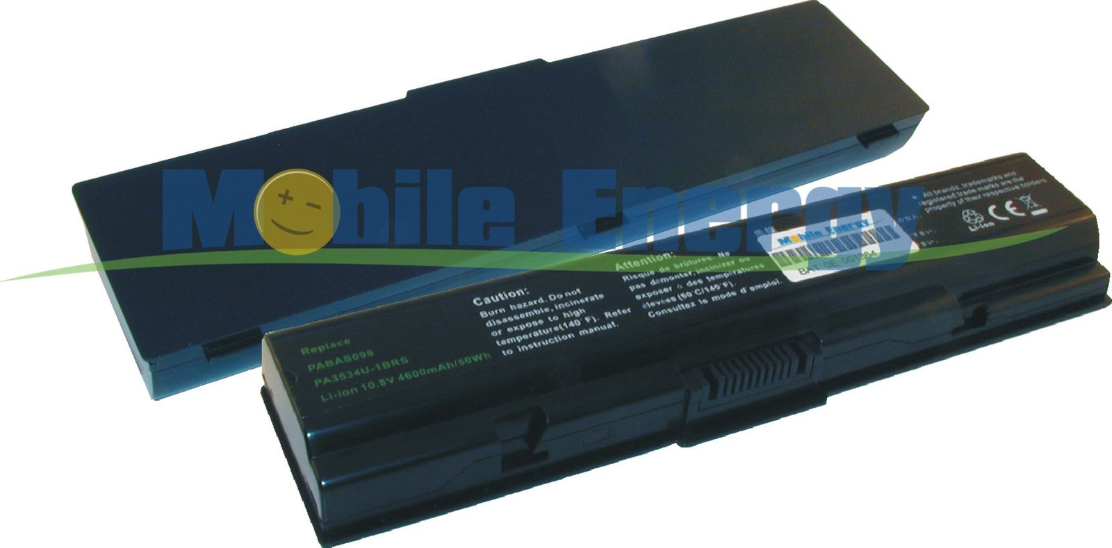 Mobile-Energy Baterie TOSHIBA Satellite A200-serie / Equium A200