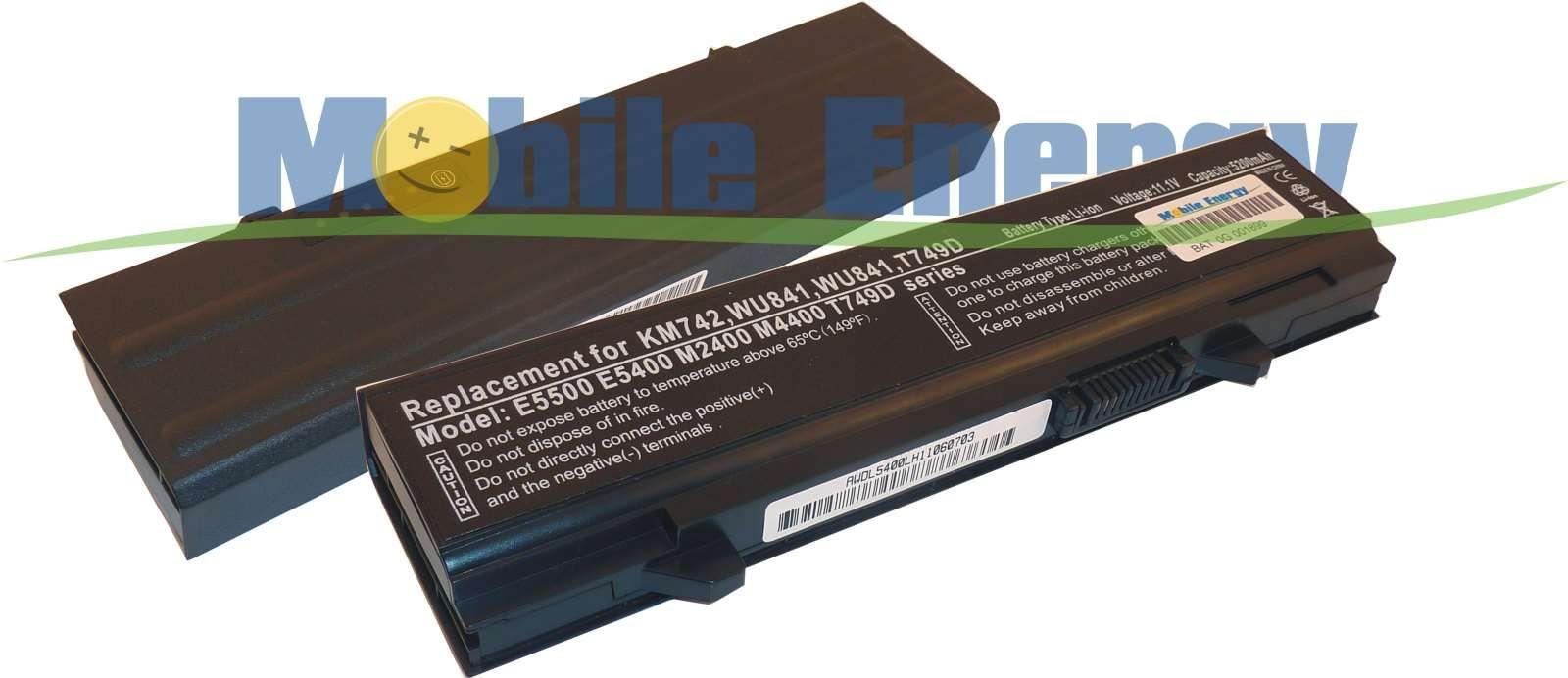 Mobile-Energy Baterie DELL Latitude E5400 / E5410 / E5500 / E551