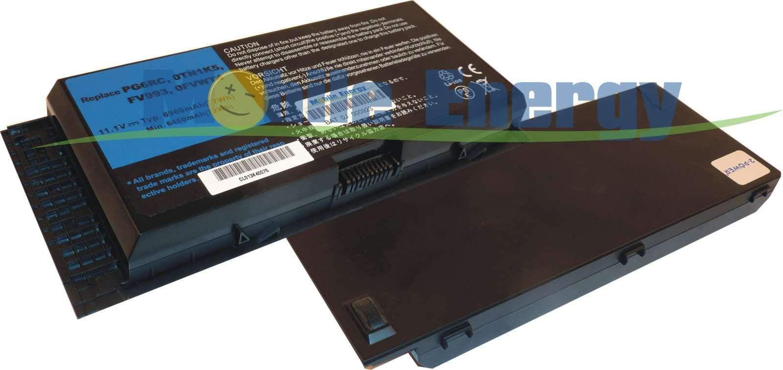 Mobile-Energy Baterie DELL Precision M4600 - 11.1v 7800mAh - Li-