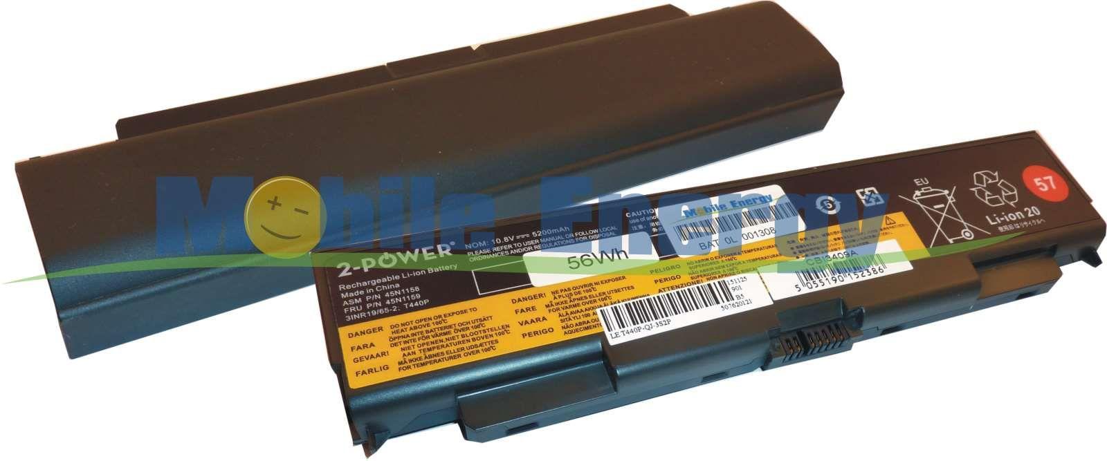 Mobile-Energy Baterie Lenovo ThinkPad T440P / T540P / L440 / L54