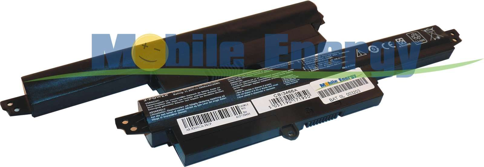 Mobile-Energy Baterie Asus X200CA / X200LA / X200MA / F200CA /F2
