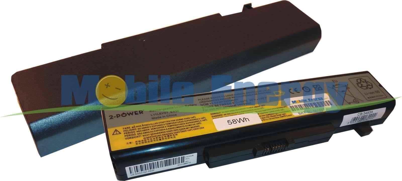 Mobile-Energy Baterie Lenovo ThinkPad Edge E430 / E435 - 10.8v 5