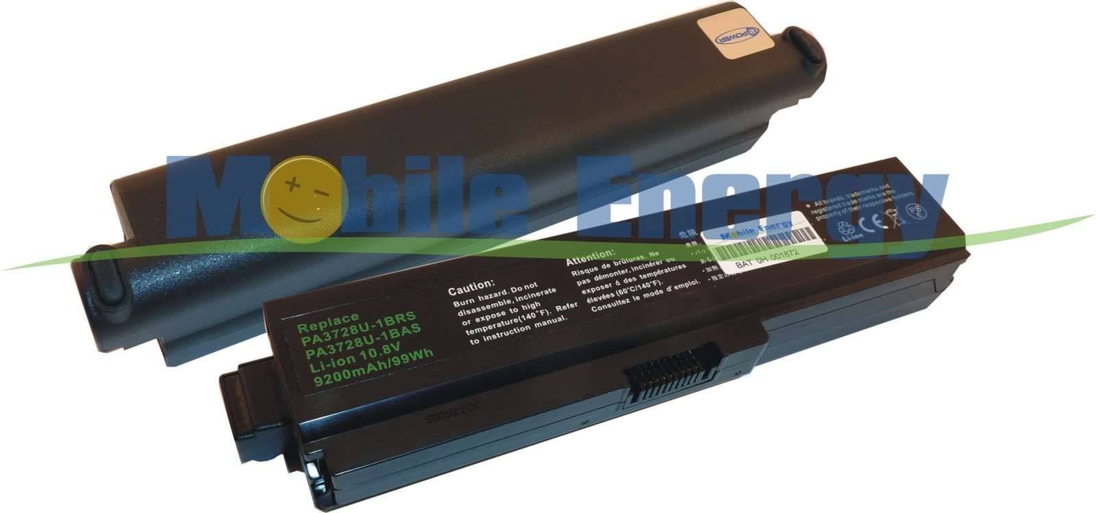 Mobile-Energy Baterie Toshiba Satellite A660 / A665 / C640 / C65
