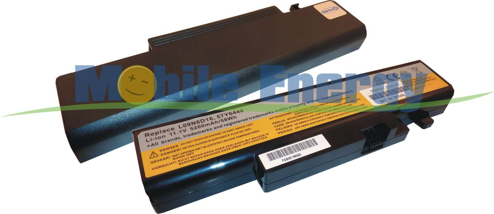 Mobile-Energy Baterie Lenovo IdeaPad Y460 / Y460A / Y460AT / Y46