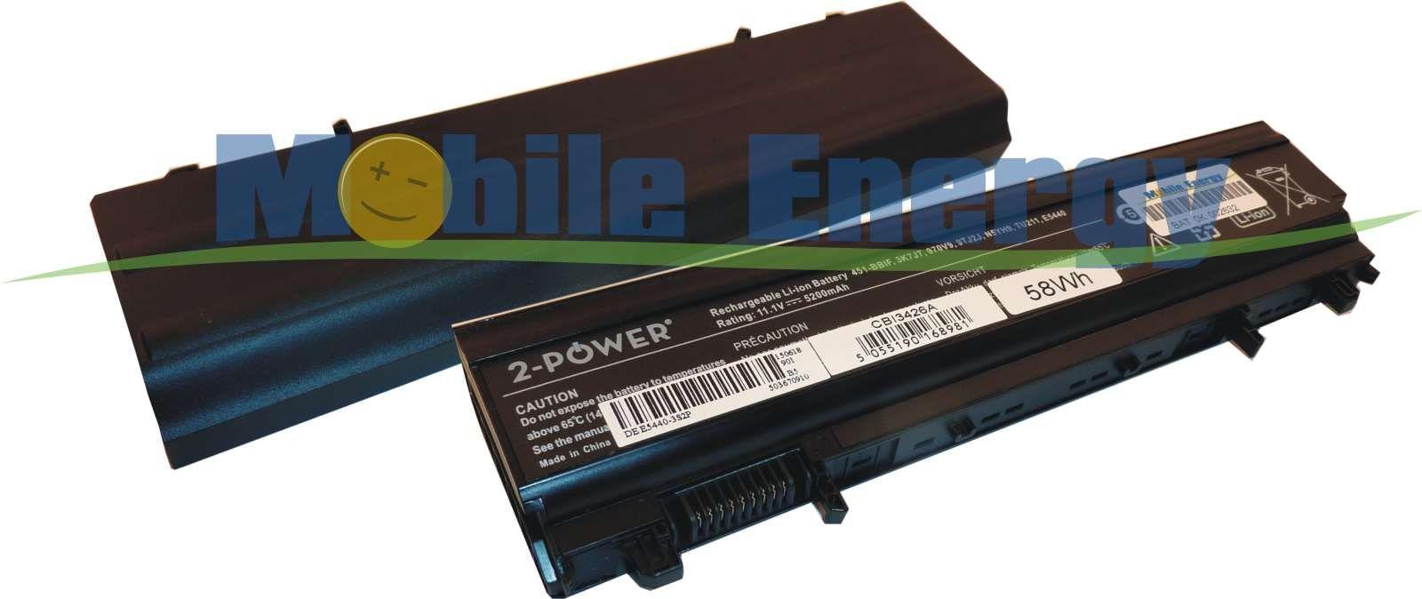 Mobile-Energy Baterie DELL Latitude E5440 / E5540 - 11.1v 5200mA